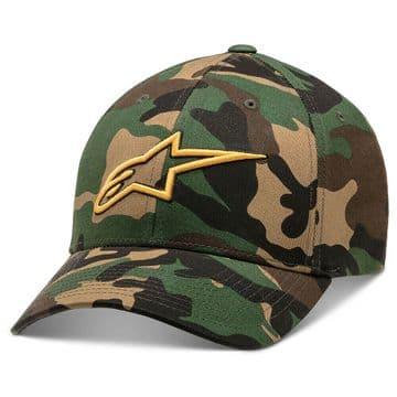 Alpinestars Visible Camo Flexfit Baseball Cap Hat